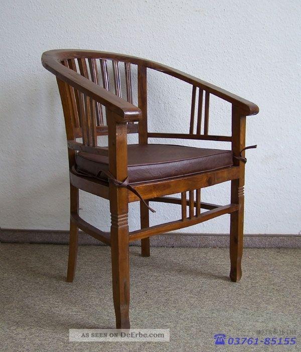 Stuhl armlehnstuhl schreibtischstuhl mit auflage for Stuhl design epochen