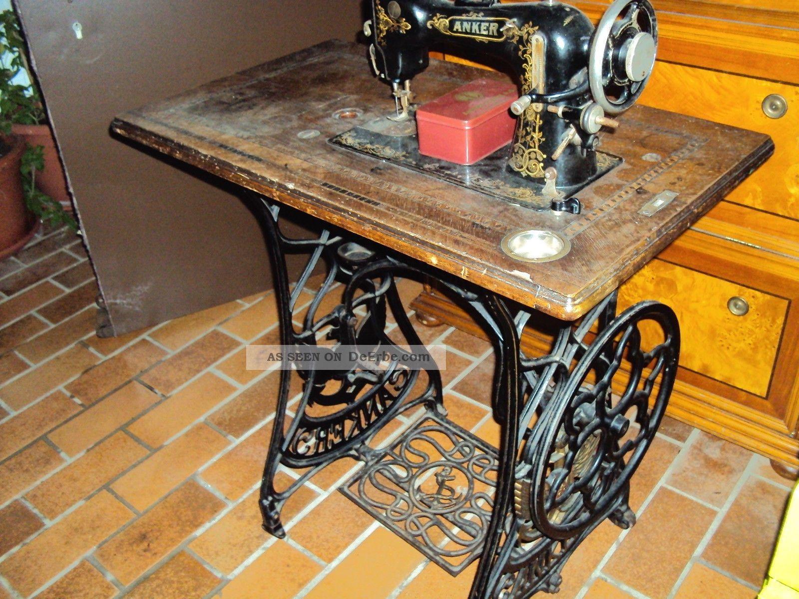 alte n hmaschine von anker. Black Bedroom Furniture Sets. Home Design Ideas