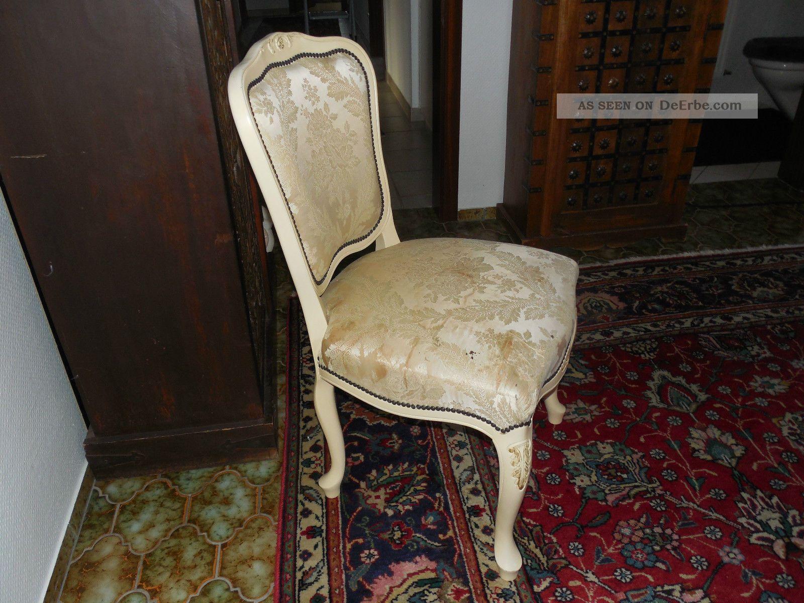 Chippendale Schlafzimmer Antik : ... Stuhl Schleiflack Barock ...