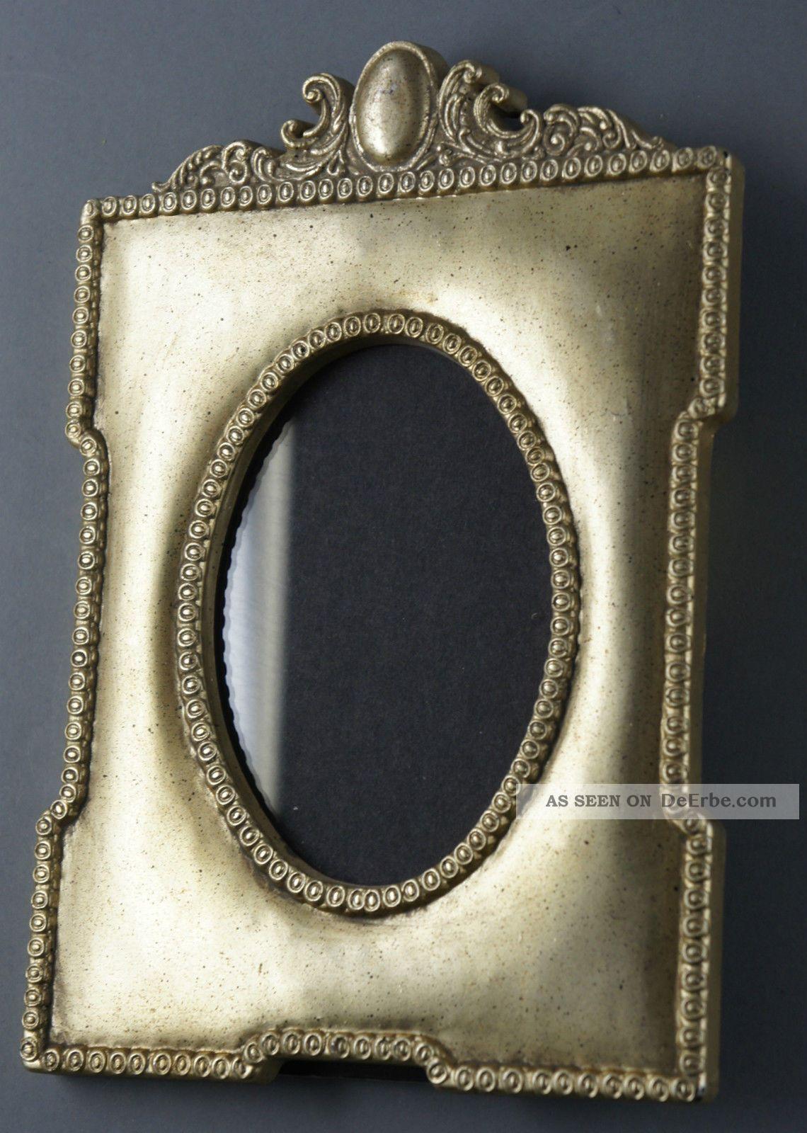 Dekorativer Kunststoff - Fotorahmen, Historismus - Stil, 14x20 Cm, Glas.