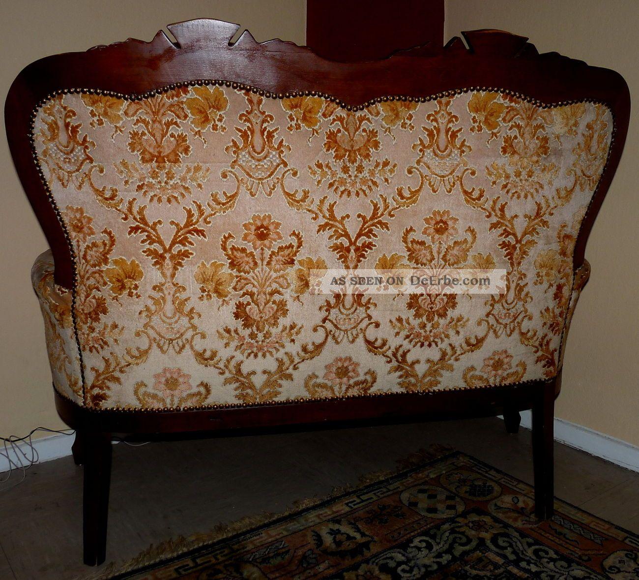 sofa zweisitzer klein antik. Black Bedroom Furniture Sets. Home Design Ideas