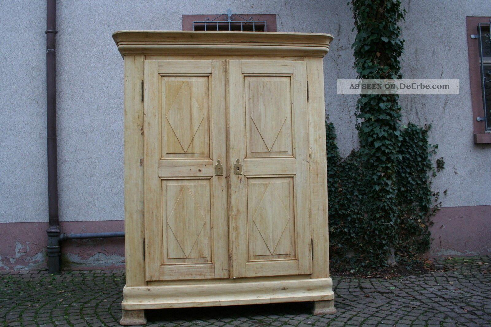 kleiderschrank biedermeier schrank shabby chic. Black Bedroom Furniture Sets. Home Design Ideas