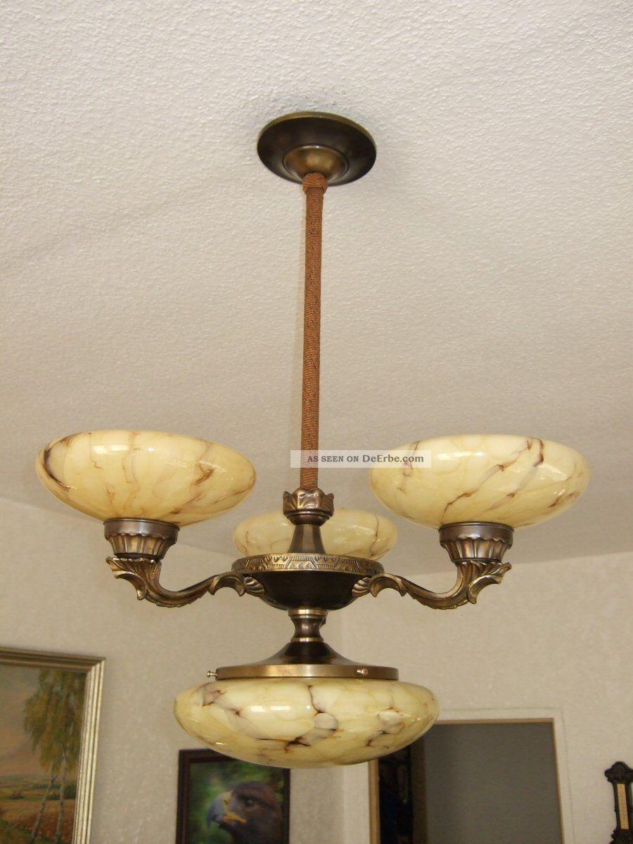 alte antike messing deckenlampe mittelleuchte. Black Bedroom Furniture Sets. Home Design Ideas