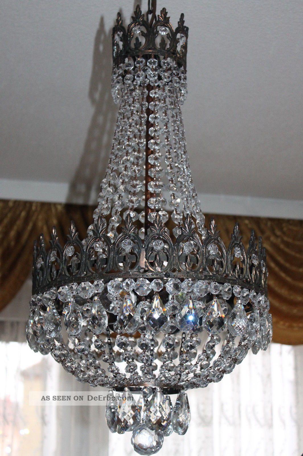 gigantische antike pariser bronze kristall korbl ster kronleuchter sack l ster. Black Bedroom Furniture Sets. Home Design Ideas