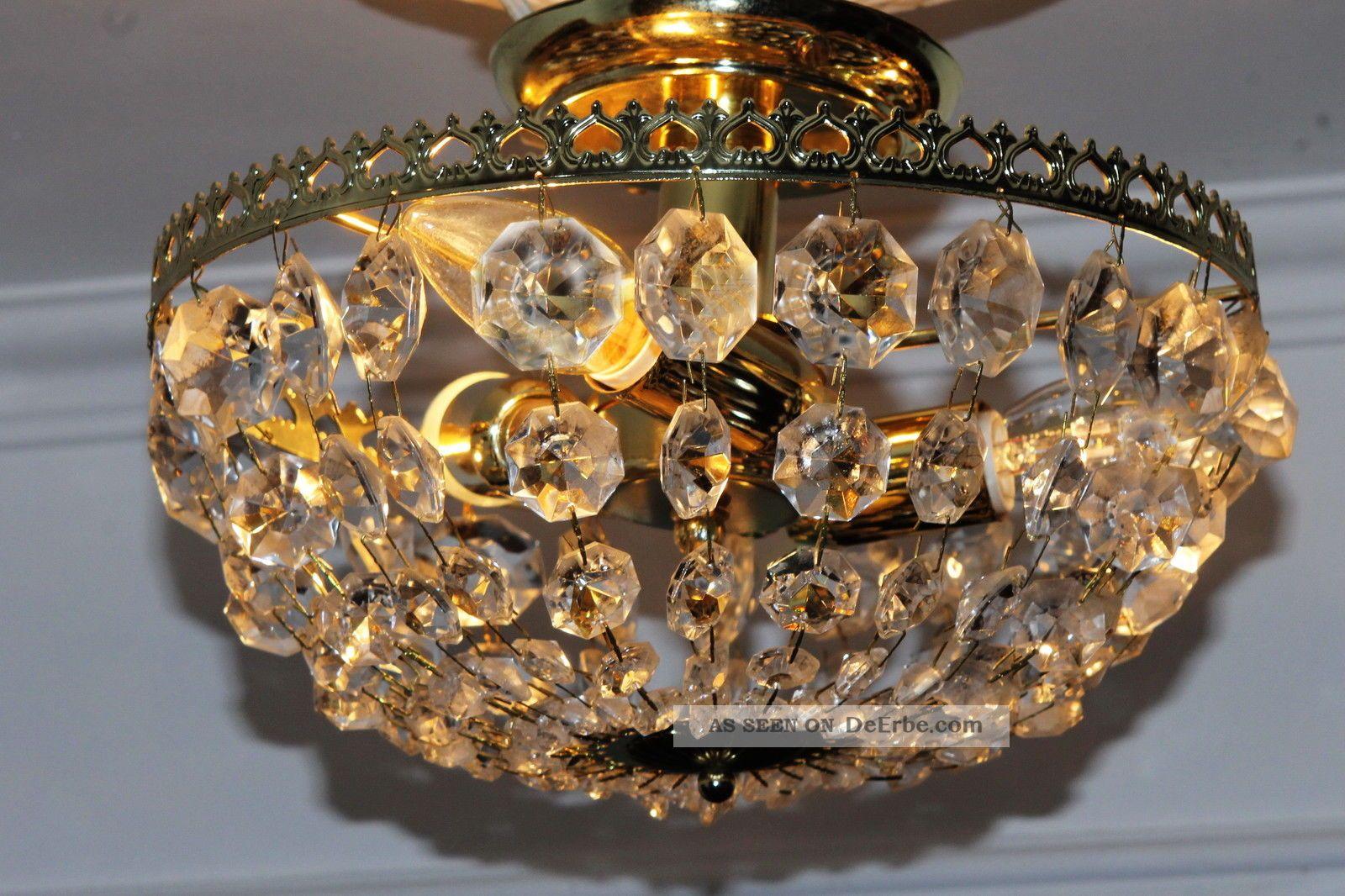 Plafoniere Kristall Antik : Mobiliar interieur lampen leuchten antike originale vor