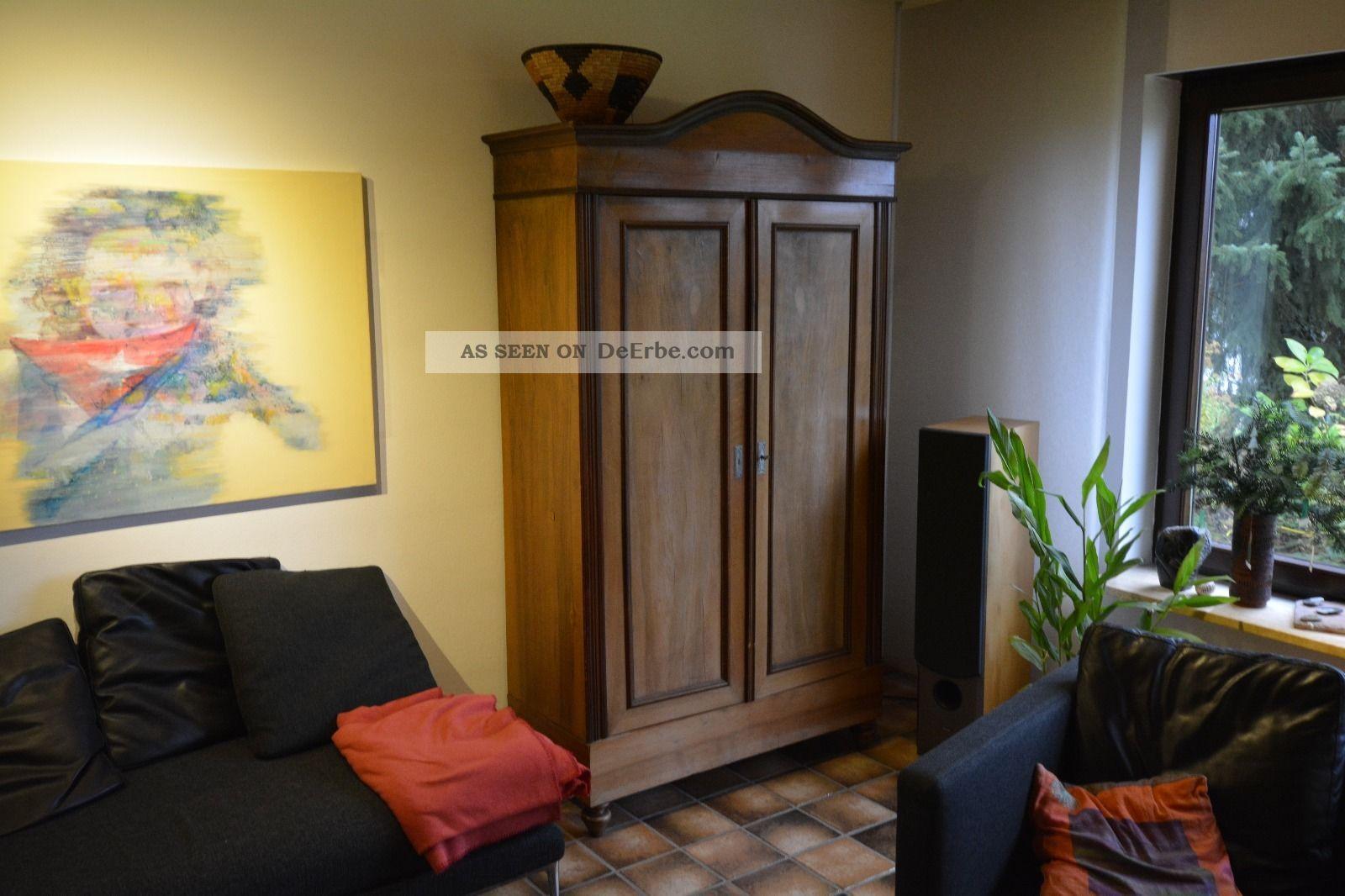 sch ner antiker schrank gr nderzeit inneneinrichtung f r multimedia ca 1900. Black Bedroom Furniture Sets. Home Design Ideas