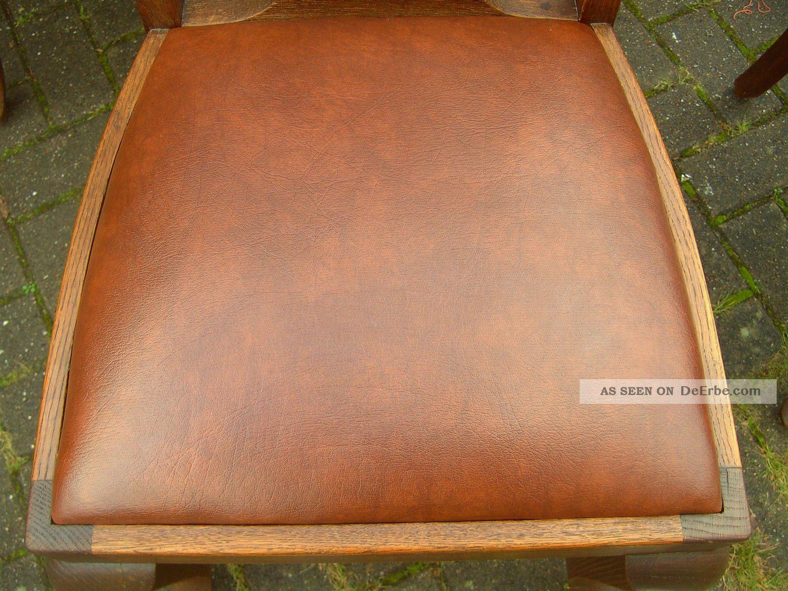 Vier Antike Stühle Jugendstil Gründerzeit