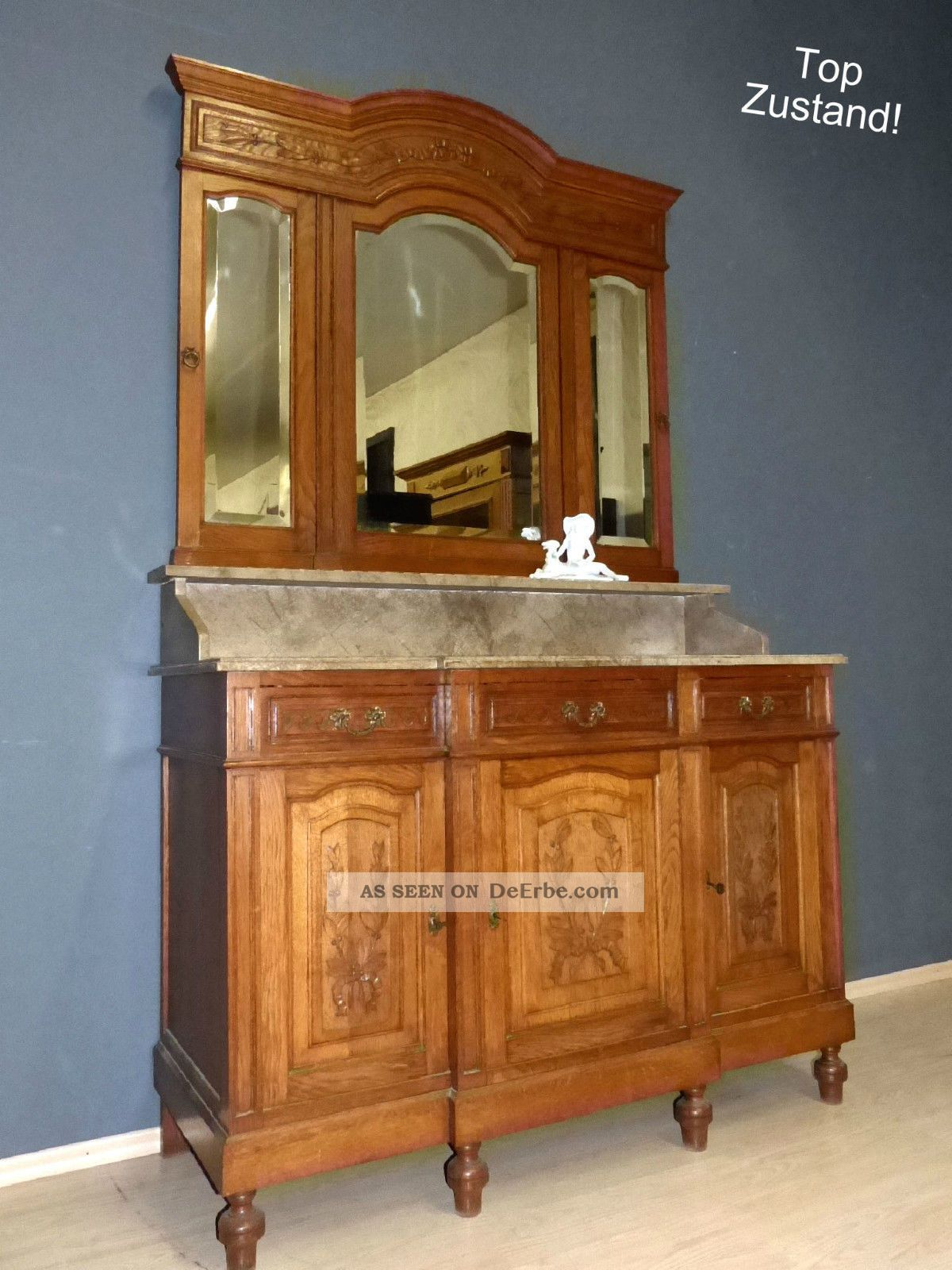 xl jugendstil spiegelkommode wien kommode spiegel antik waschtisch eiche schrank. Black Bedroom Furniture Sets. Home Design Ideas