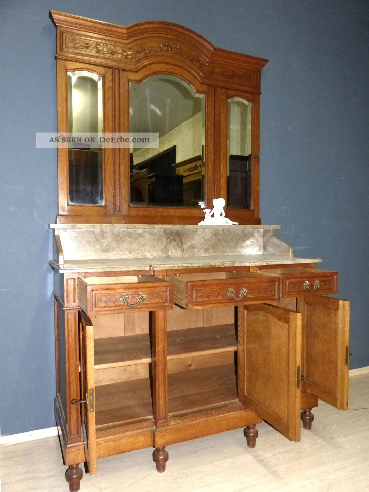 xl jugendstil spiegelkommode wien kommode spiegel antik. Black Bedroom Furniture Sets. Home Design Ideas