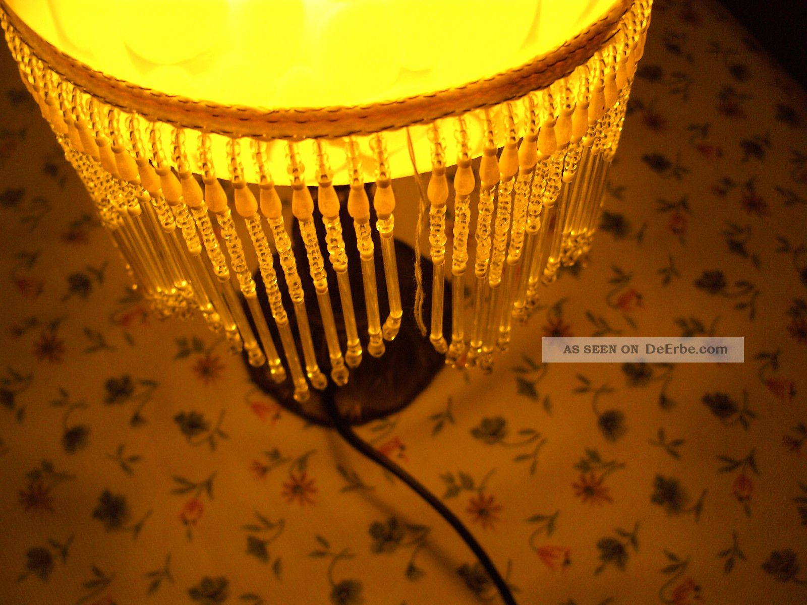 Lampenschirm glas antik petroleumlampe