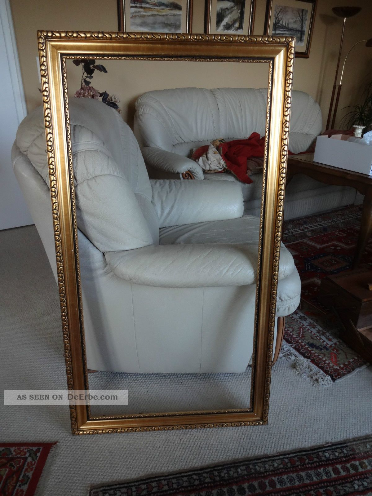 gro er alter rahmen bilderrahmen gold goldener rahmen ca. Black Bedroom Furniture Sets. Home Design Ideas
