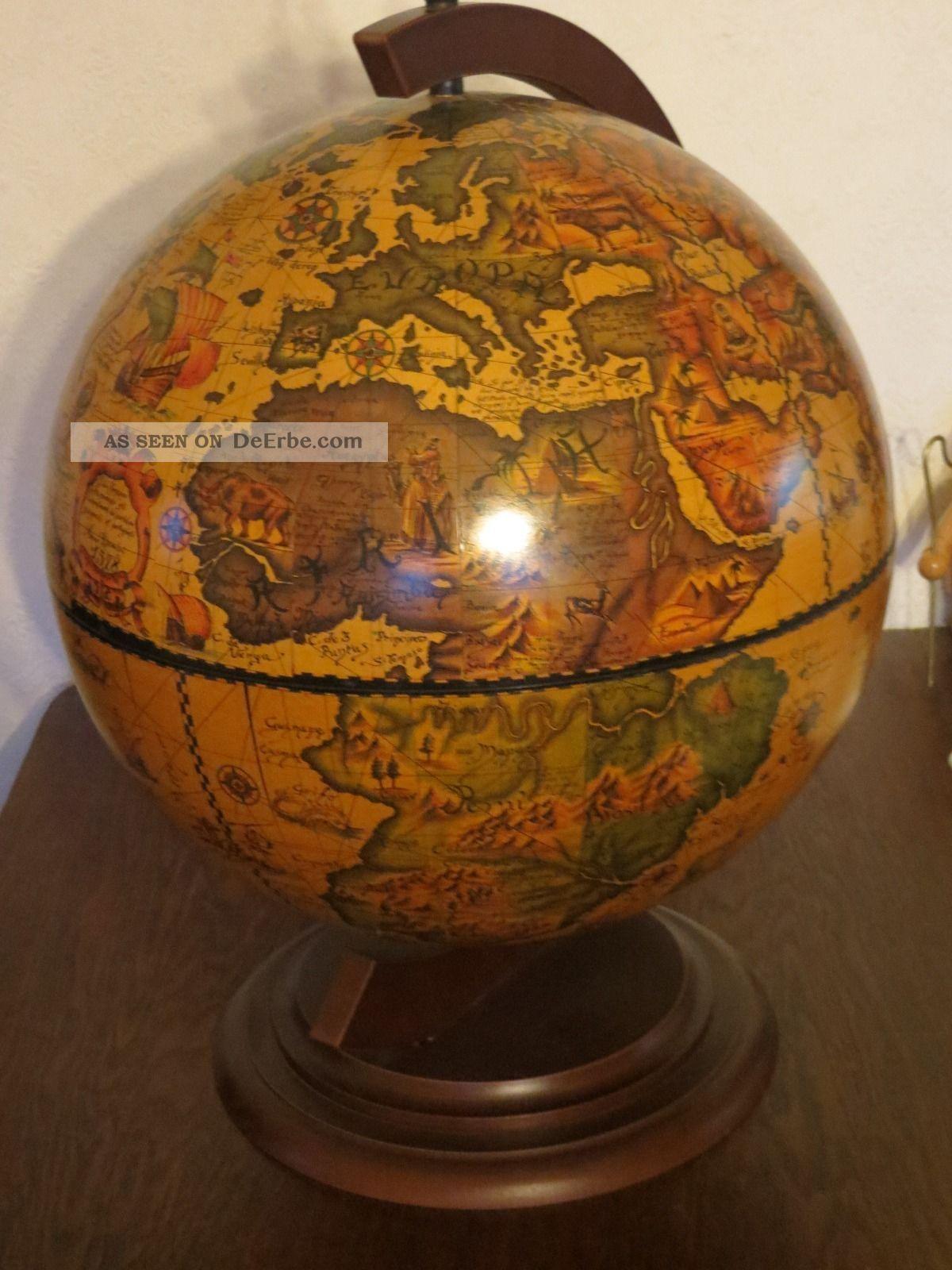 Hausbar - Minibar - Tisch Bar - Drehbarer Globus.