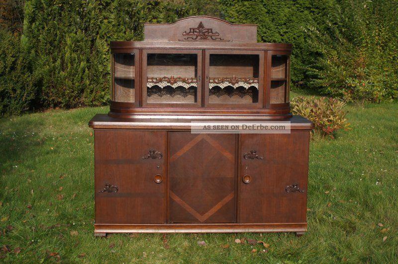 alte anrichte wohnzimmerbuffett buffett vermutl 20er jahre gut erhalten. Black Bedroom Furniture Sets. Home Design Ideas