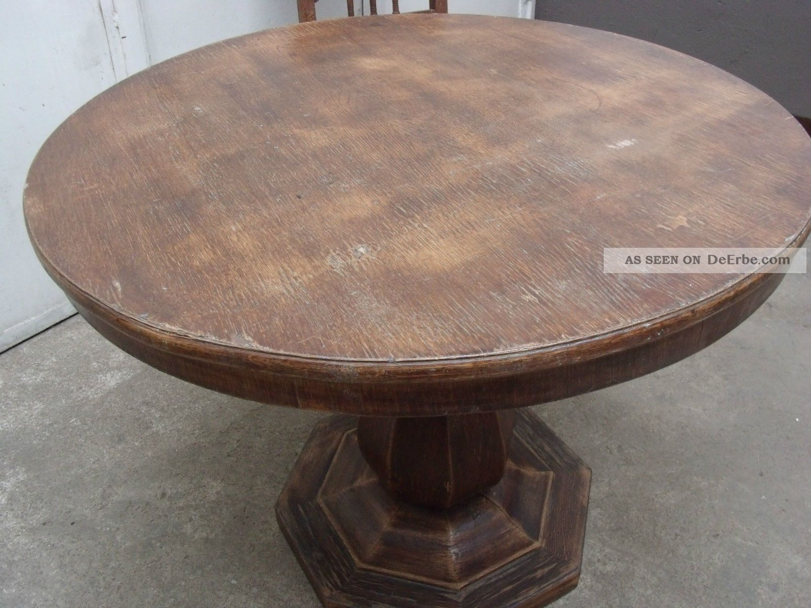 Alten Tisch Restaurieren ~ Schöner Kleiner Antiker Tisch Alter Kneipentisch Als Esstisch Zum Restaurieren