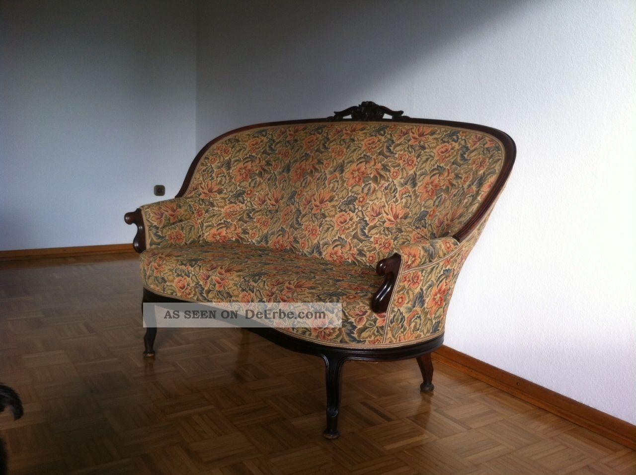 antikes sofa 19 jahrhundert. Black Bedroom Furniture Sets. Home Design Ideas