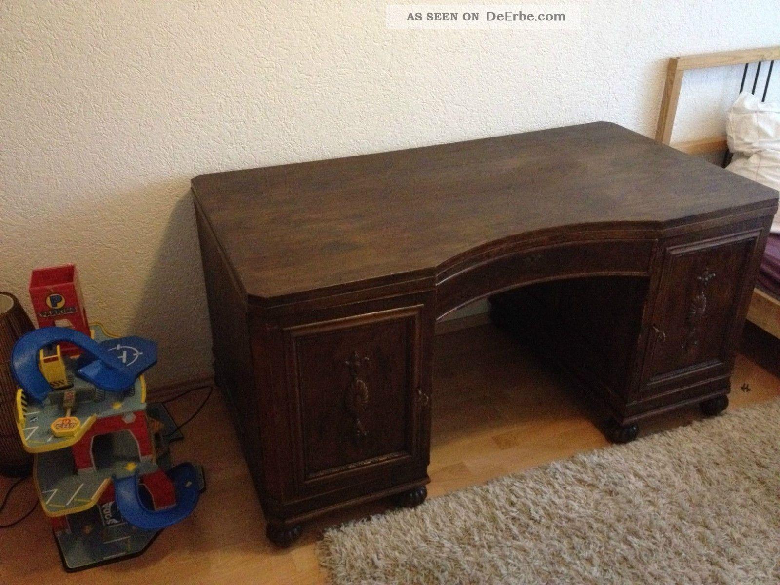 alter tisch antiker schreibtisch holztisch. Black Bedroom Furniture Sets. Home Design Ideas