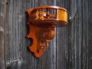 Kleines Wandregal (handarbeit) Aus Erlenholz Bild