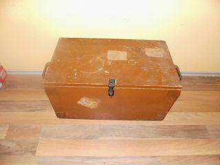 Alte Antike Frachtkiste Truhe Holztruhe Kiste Holzkiste Koffer Couchtisch Bild