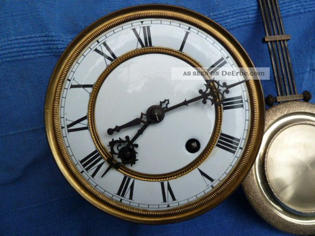 Carl Werner Regulator Uhrwerk Um 1890