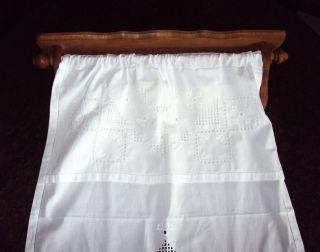 Geschirrtuchhalter Holz Handtuchhalter Regal Ziertuchstange Wandbord Überwurf Bild