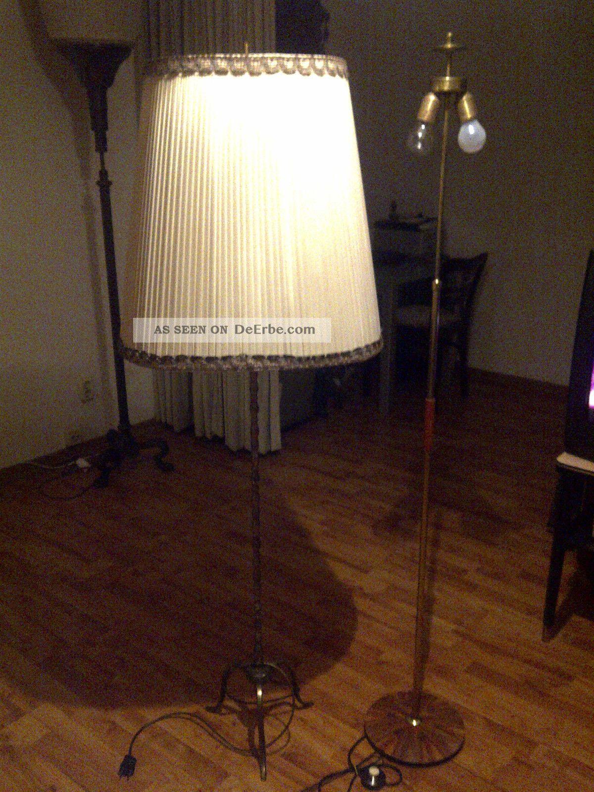 2 sch ne dekorative stehlampen lampen lampenschirm. Black Bedroom Furniture Sets. Home Design Ideas