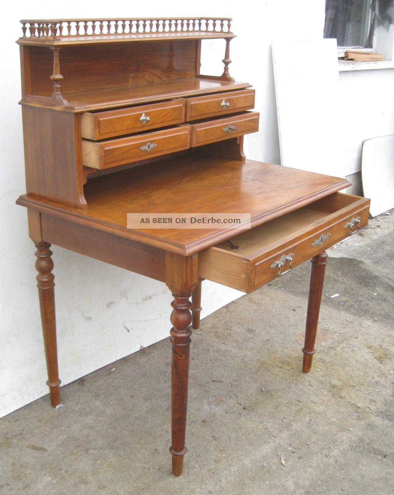 gr nderzeit sekret r mit aufsatz ca 1890 nu baum. Black Bedroom Furniture Sets. Home Design Ideas