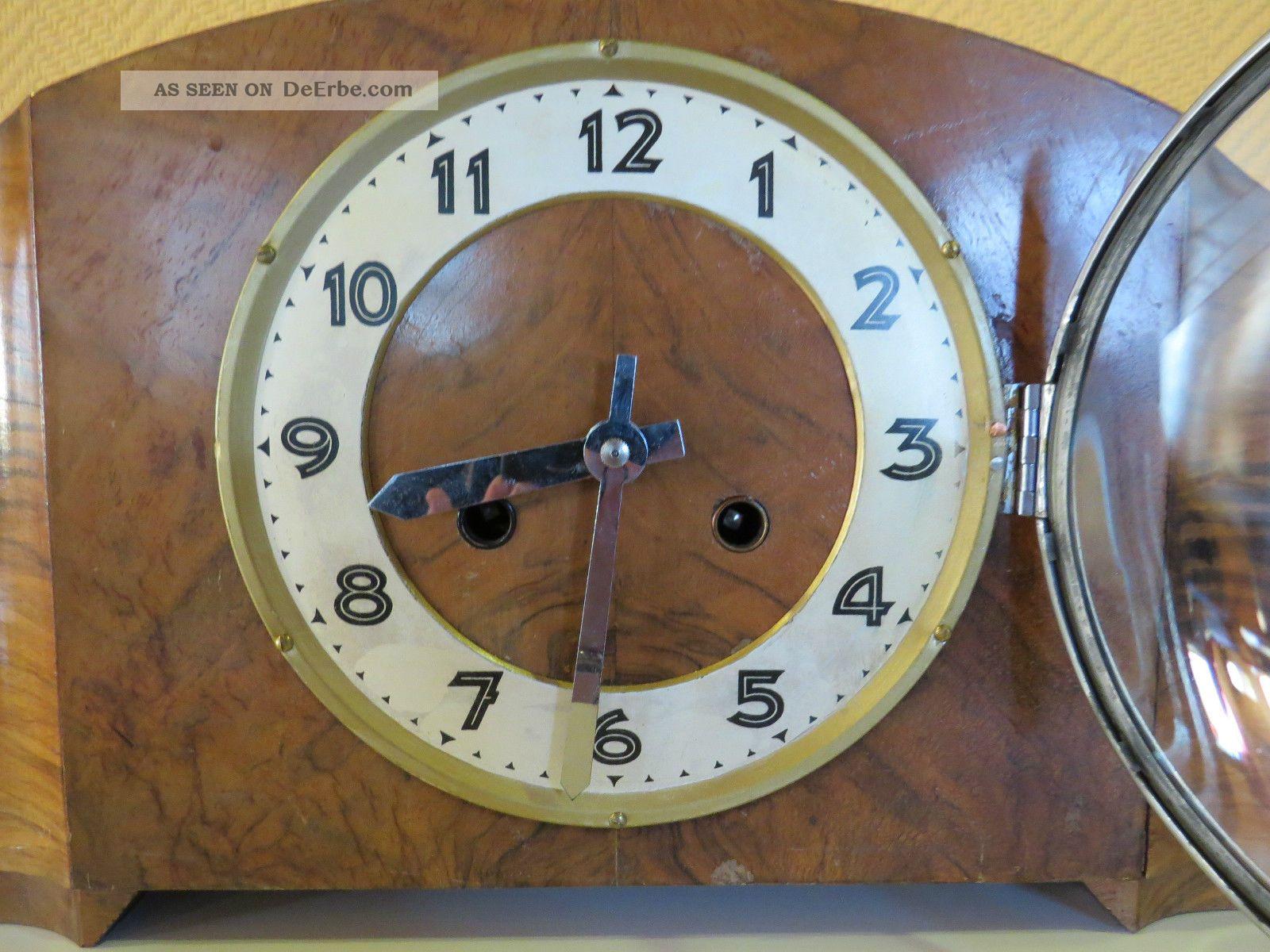 Alte Uhr Aufsatzuhr Buffet