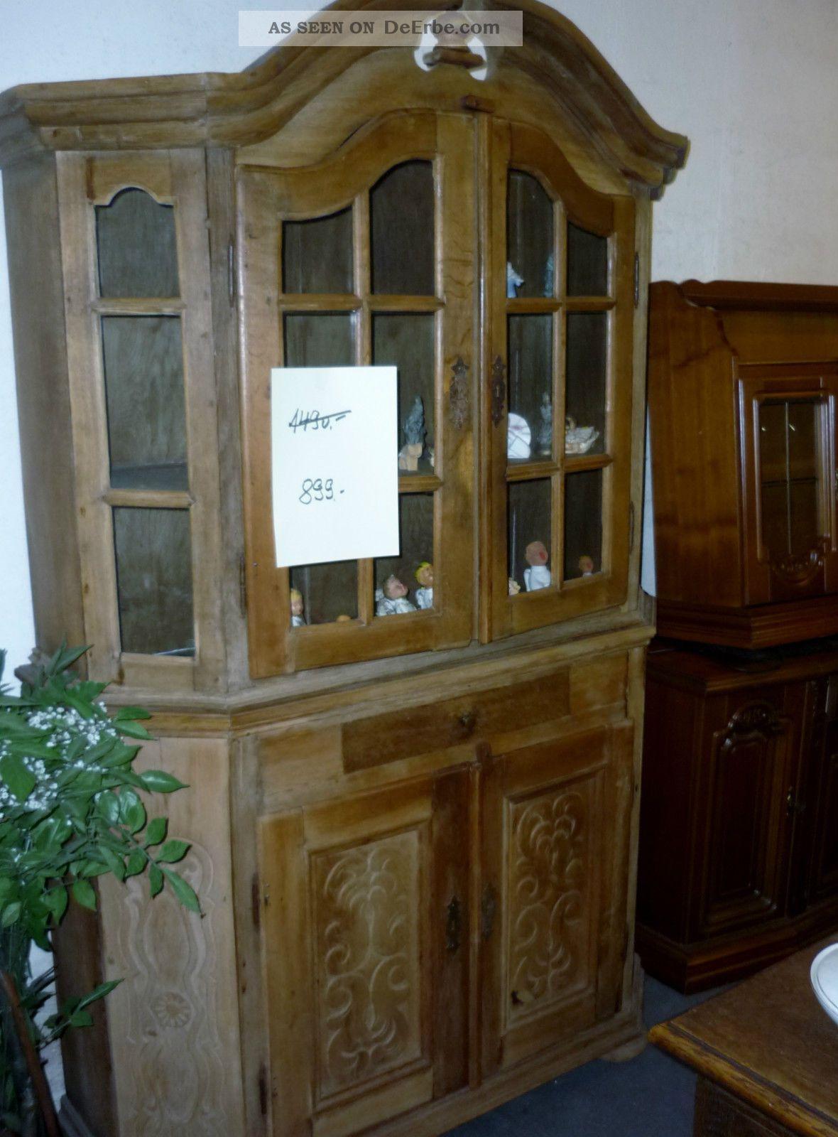 eiche schrank bergischer schrank vitrine. Black Bedroom Furniture Sets. Home Design Ideas
