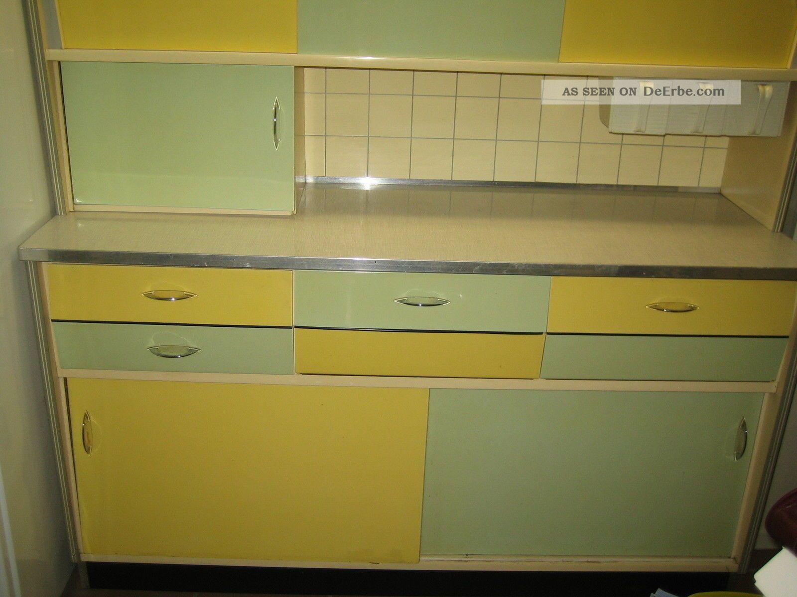 alter k chenschrank k chenzeile 70er jahre orginal. Black Bedroom Furniture Sets. Home Design Ideas