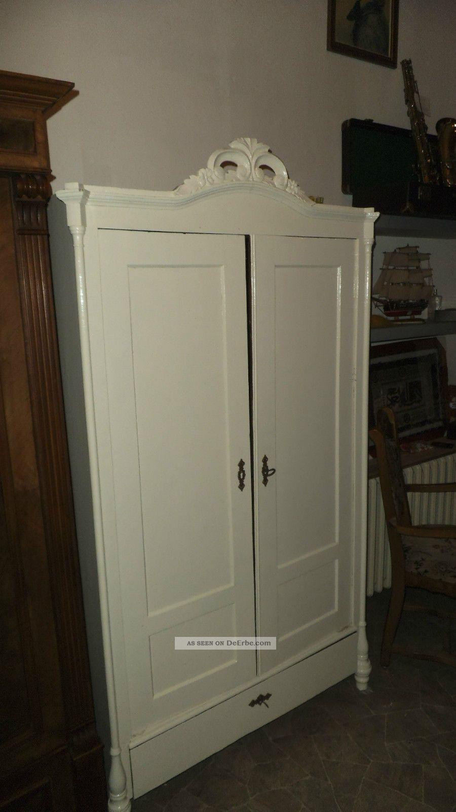 dielenschrank kleiderschrank schrank antik shabby chic schubfach. Black Bedroom Furniture Sets. Home Design Ideas