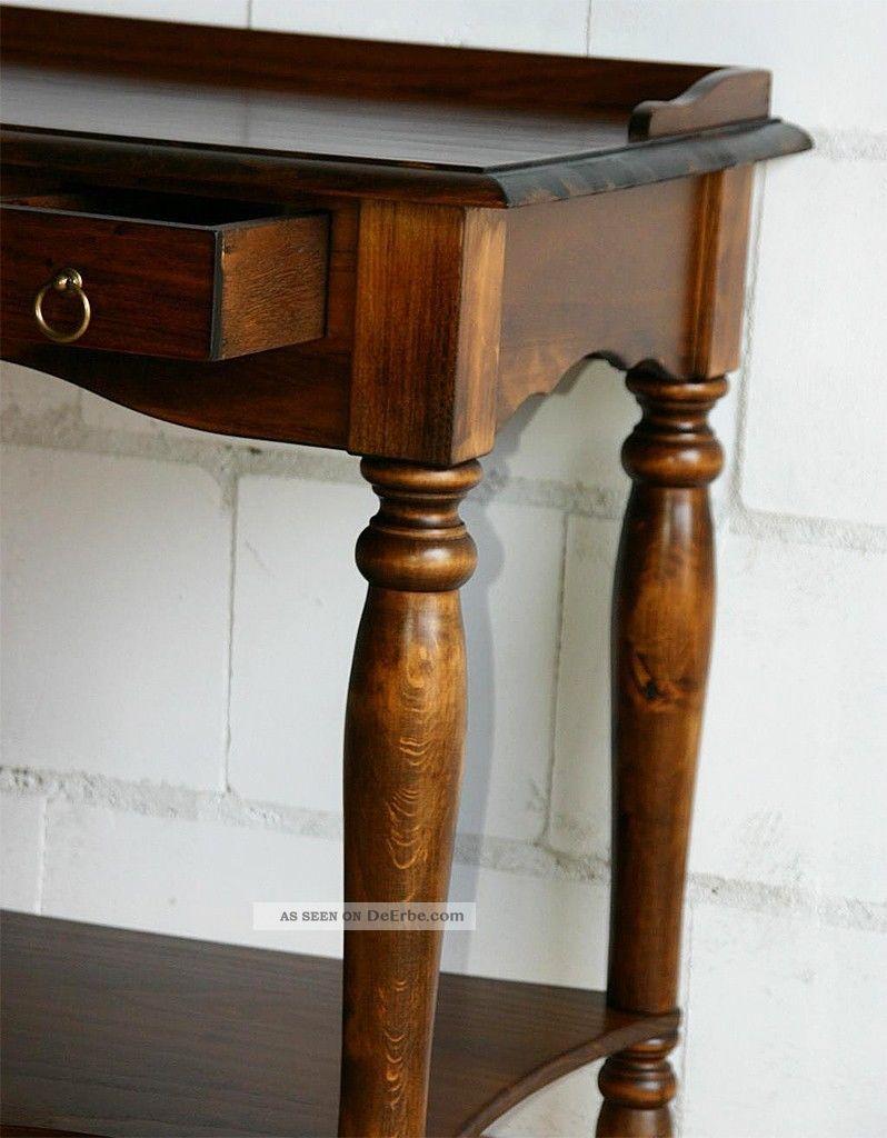 computertisch schreibtisch sekret r pc tisch massiv holz wenge nu baum braun. Black Bedroom Furniture Sets. Home Design Ideas