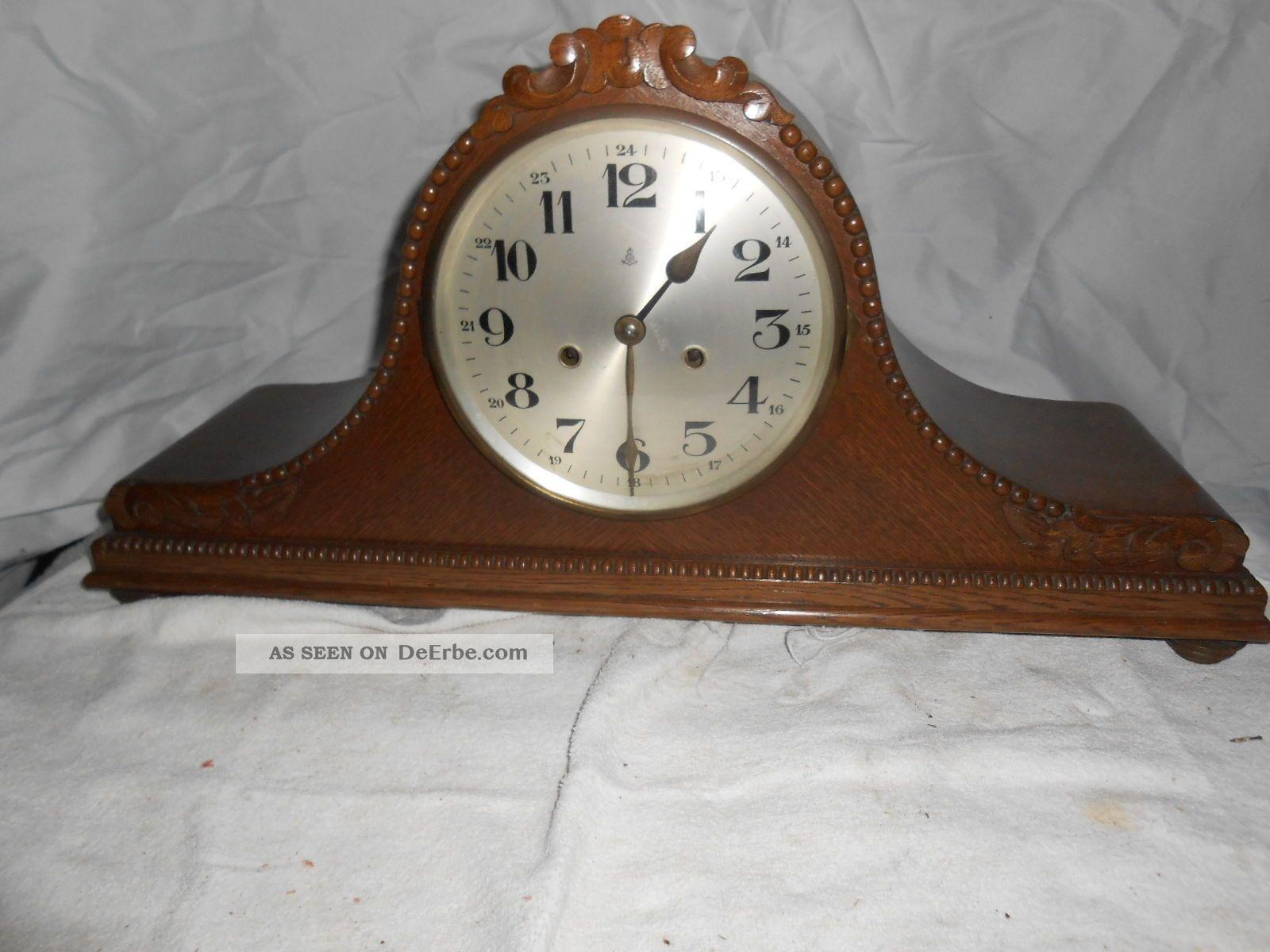 Kamin Uhr Um 1900 (gustav Becker