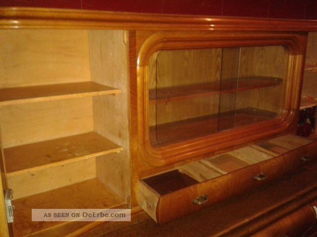 oma s 2 teiliger k chenschrank 50er jahre schrank mit brotkasten gew rzgl ser. Black Bedroom Furniture Sets. Home Design Ideas