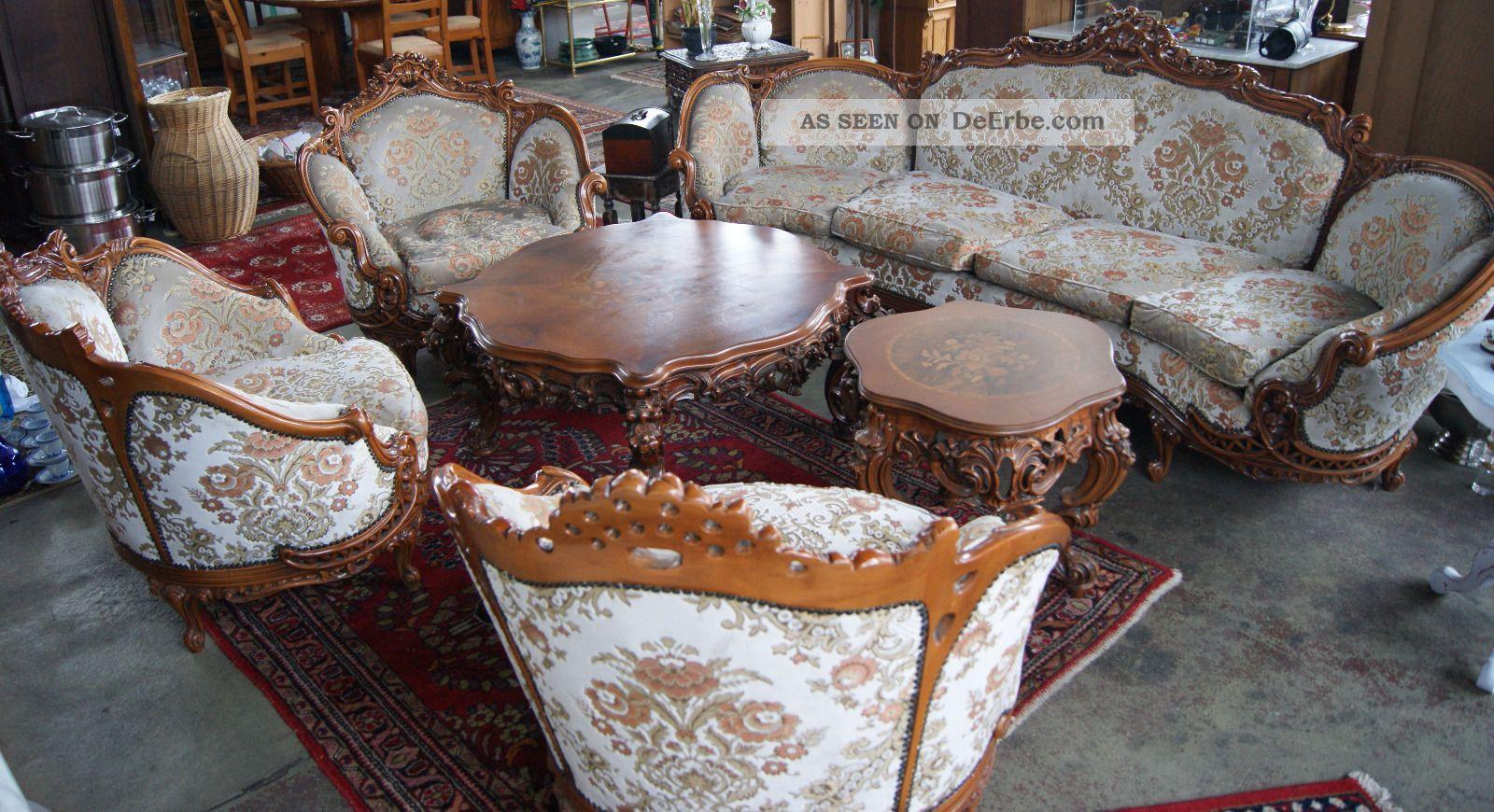 Barock couch sofa sessel tische for Couch jugendstil