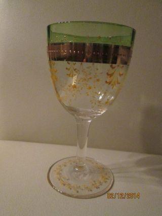 Sehr Alte Gläser Südweinglas / Sektschale Mit Zertifikat Um 1900 Bild