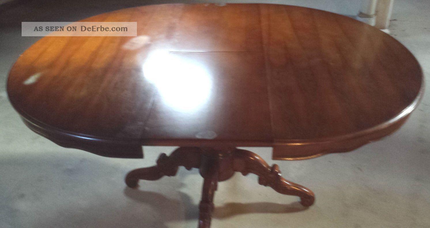 antiker tisch ausziehbar. Black Bedroom Furniture Sets. Home Design Ideas