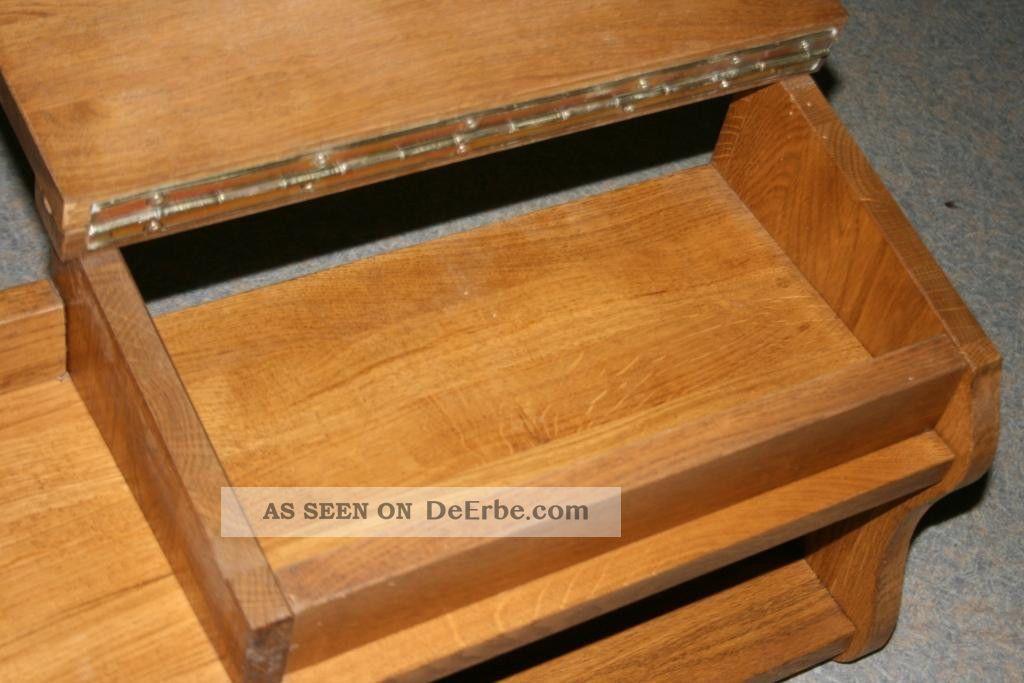 wandregal h ngeregal wandboard regal mit kleinem sekret r massiv holz. Black Bedroom Furniture Sets. Home Design Ideas