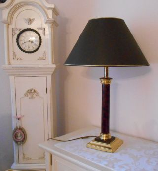 mobiliar interieur lampen leuchten gefertigt nach 1945 tischlampen antiquit ten. Black Bedroom Furniture Sets. Home Design Ideas