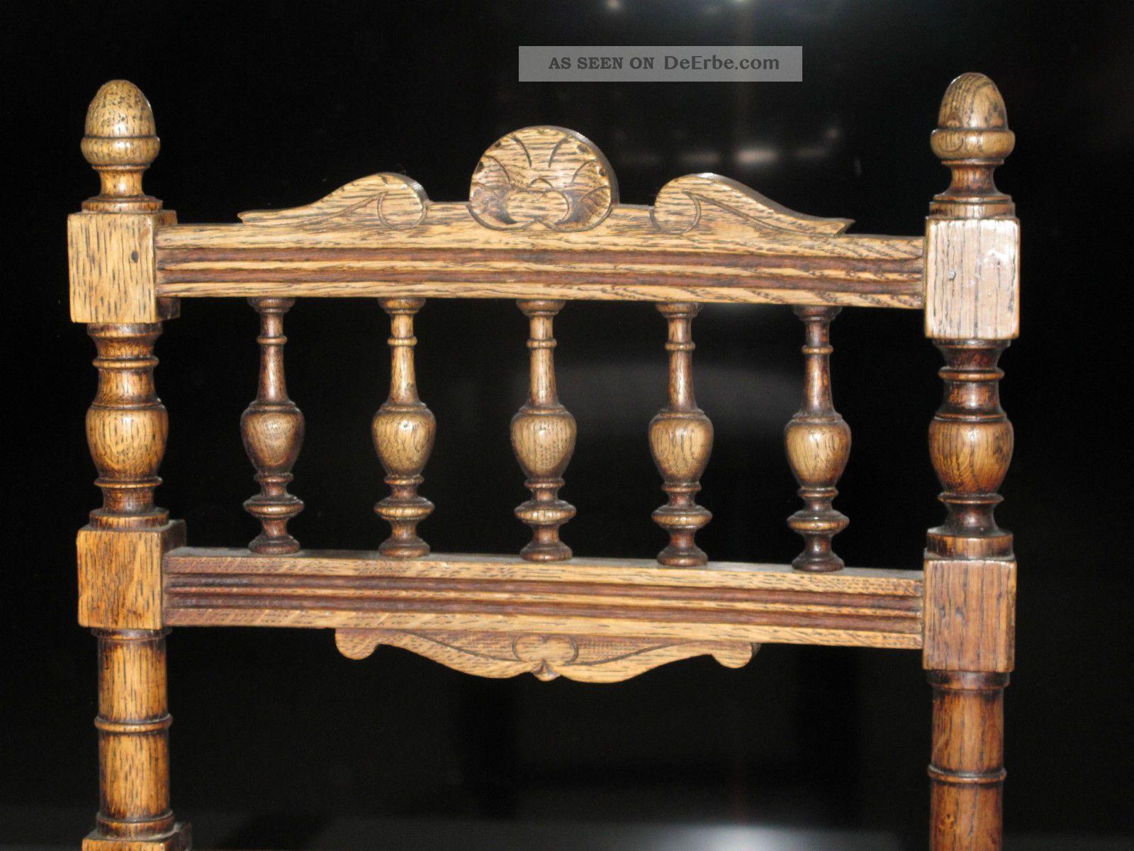 stuhl holzstuhl polsterstuhl eiche gr nderzeit jugendstil alt antik bezogen. Black Bedroom Furniture Sets. Home Design Ideas