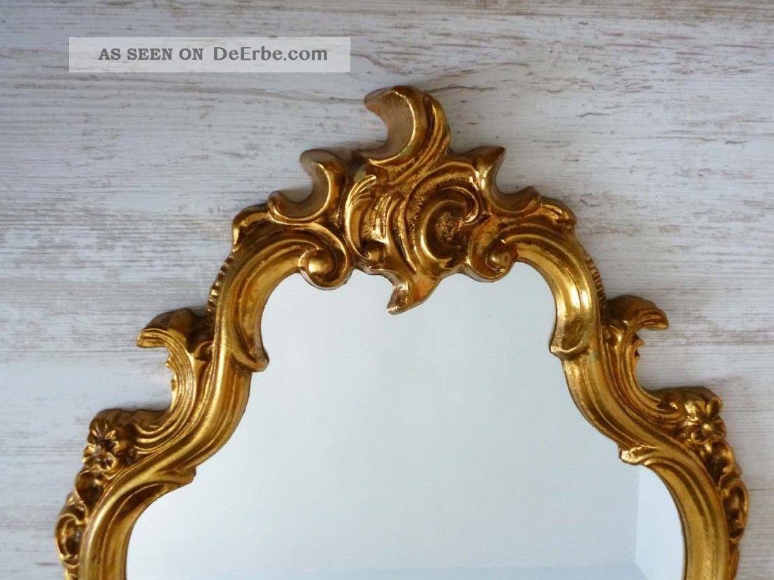 sch ner spiegel iim barock stil wandspiegel goldener. Black Bedroom Furniture Sets. Home Design Ideas