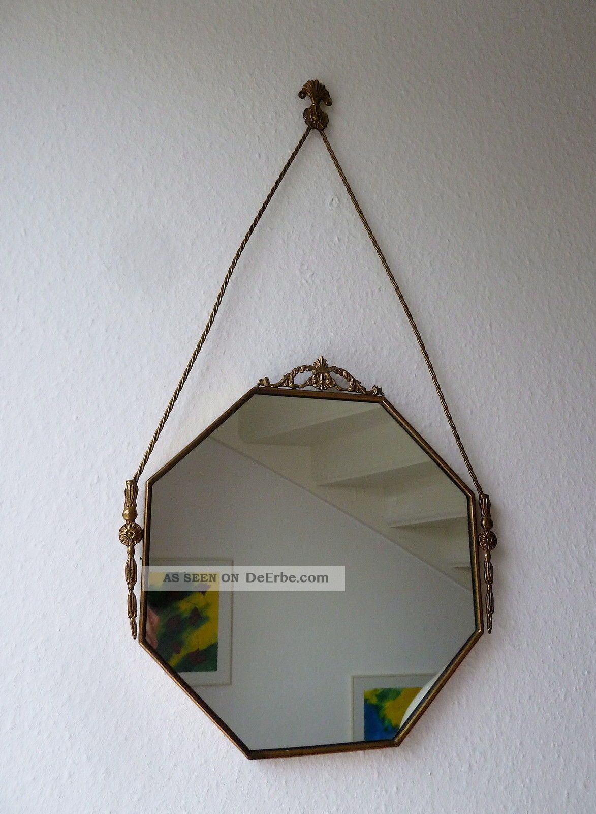 spiegel messing florentiner barock stil wandspiegel. Black Bedroom Furniture Sets. Home Design Ideas