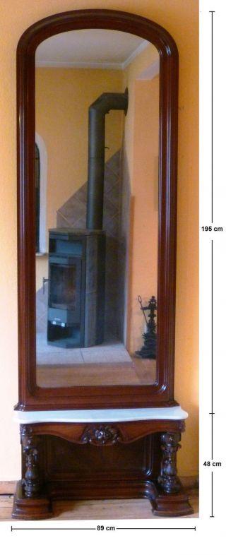mobiliar interieur spiegel rahmen spiegel antike originale vor 1945 antiquit ten. Black Bedroom Furniture Sets. Home Design Ideas