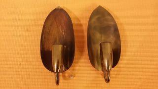 2 Antike Wandlampe - Wandleuchte E14 Messing 1 Flammig Bild