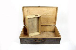 Alte Holzkiste Werkzeugkiste Mit Tragegriff Holz Kiste | 62x16,  5x36 Bild