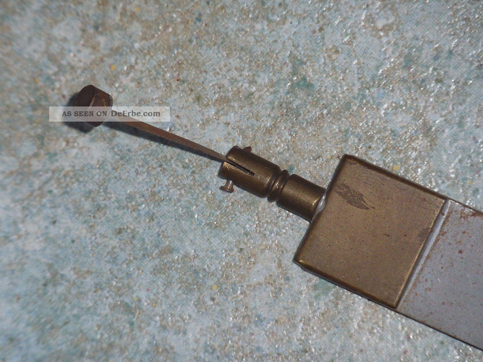 nr o alte standuhr pendel uhrenpendel metallstab