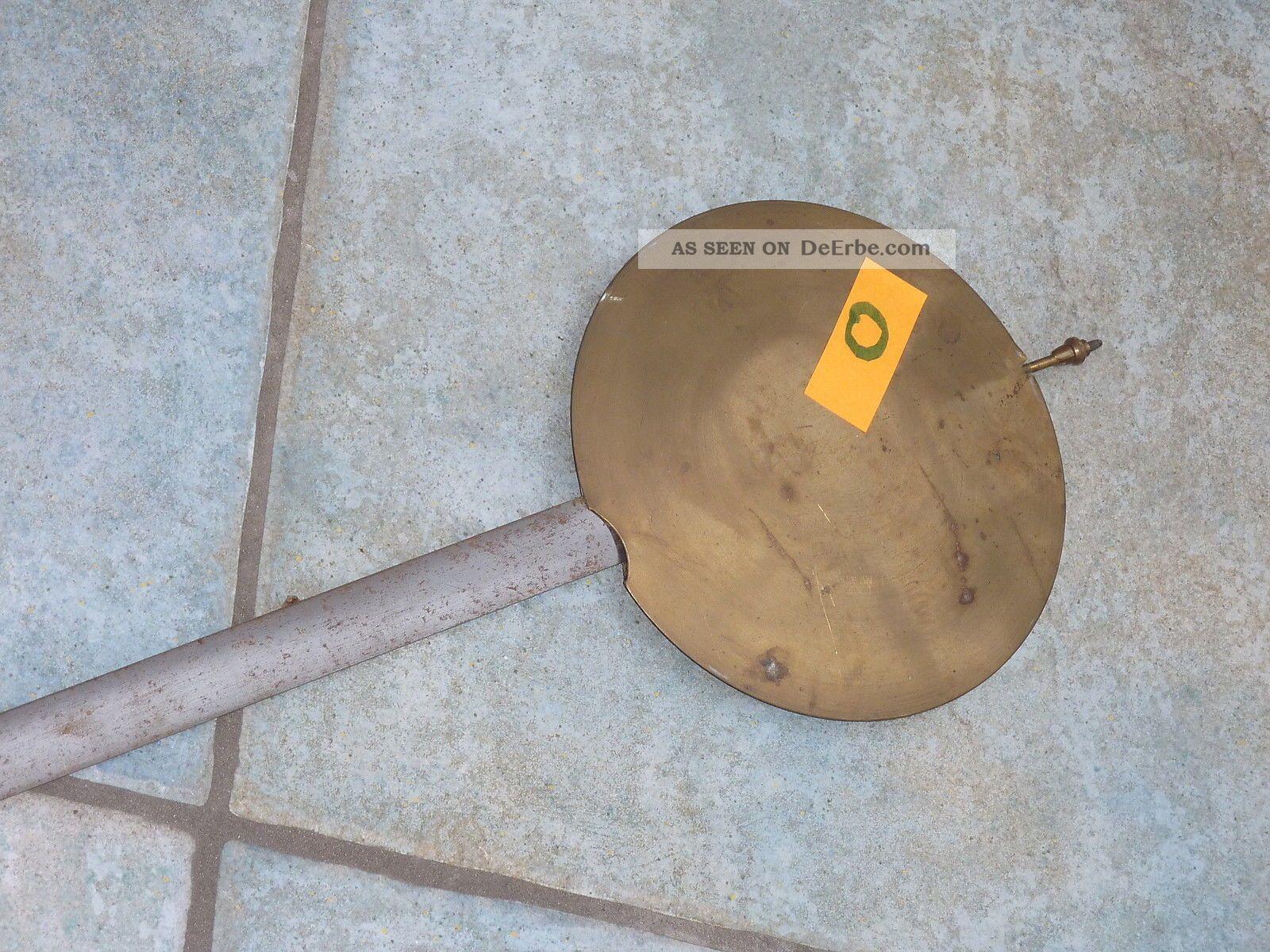 Nr. O Alte Standuhr Pendel Uhrenpendel Metallstab ...