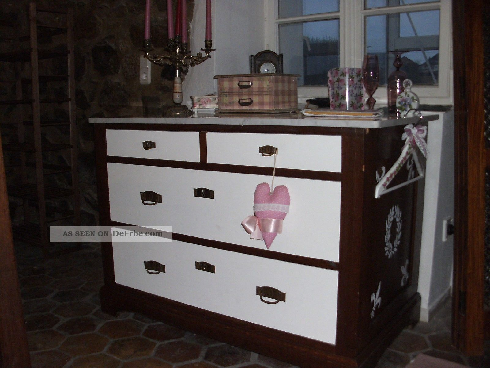 antike kommode antike anrichte waschtisch shabby chic. Black Bedroom Furniture Sets. Home Design Ideas