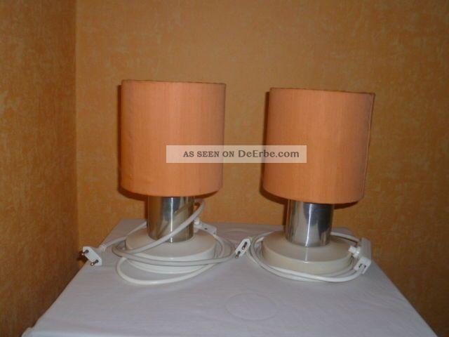2x Alte Nachttischlampe Ddr Lampe Kult Retro Design Alt