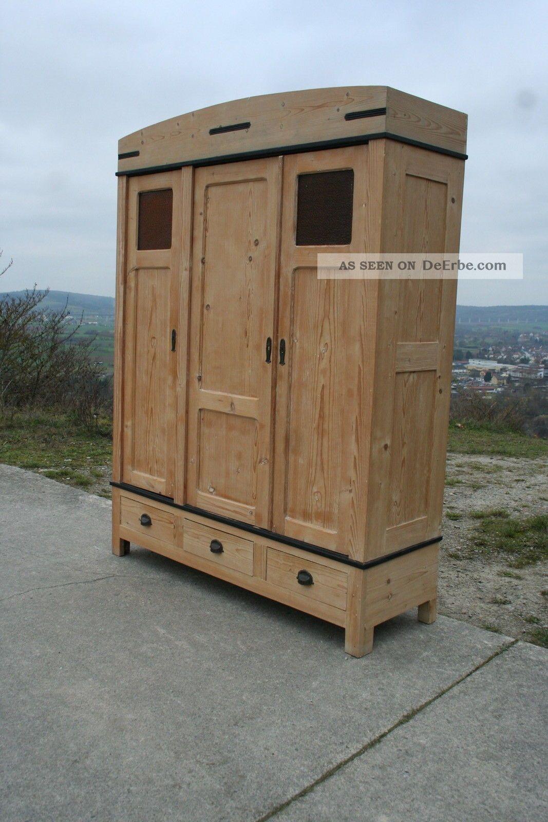 kleiderschrank shabby chic landhausm bel vintage vintagem bel schrank art deco. Black Bedroom Furniture Sets. Home Design Ideas