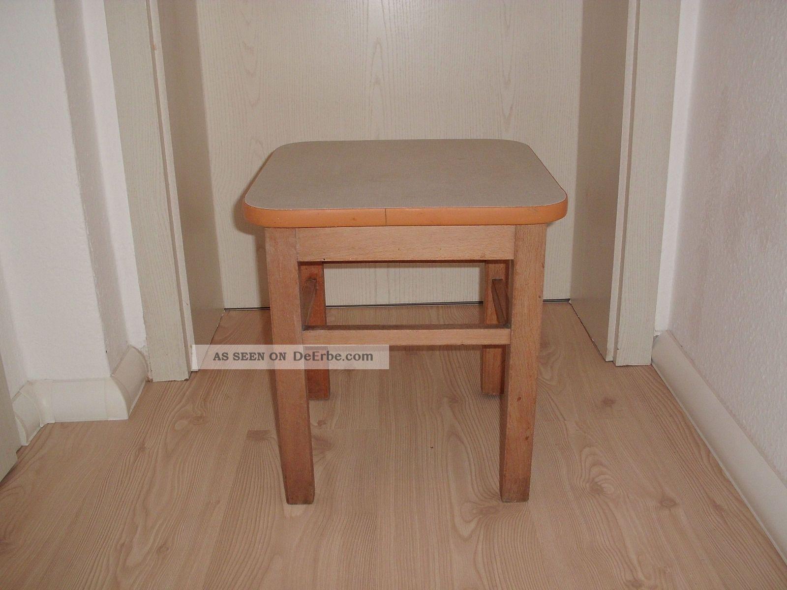 alter hocker k 252 chenhocker holzhocker ddr 60er 70er jahre. Black Bedroom Furniture Sets. Home Design Ideas